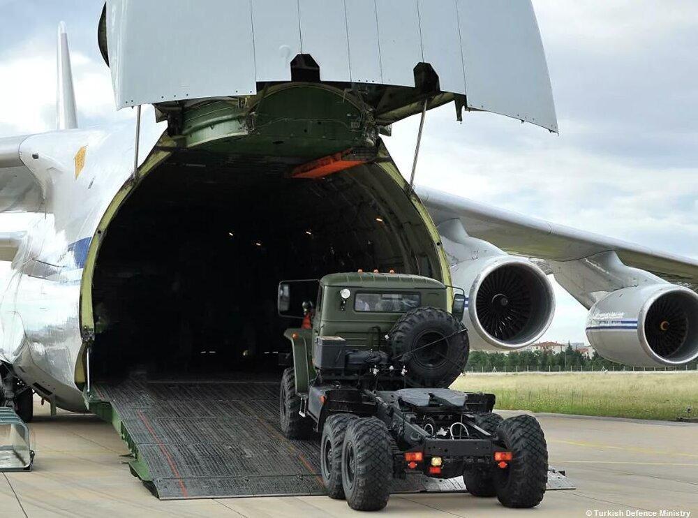 انتقال سامانه های موشکی اس400 به ترکیه سرانجام یافت