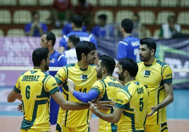 ملی پوش والیبال پاکستان: مقام هفتمی آسیا راضی کننده بود