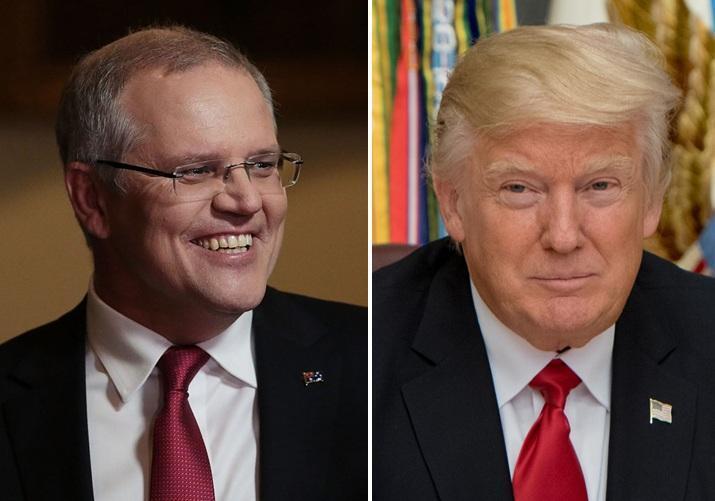 اسکات موریسون: ترامپ دربرابر اقدامات ایران خویشتن داری نموده است!