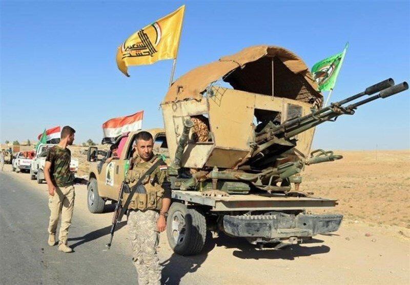 حمله به پادگان حشد شعبی در غرب الانبار