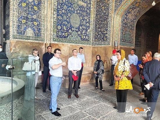 اصفهان گردی وزیر خارجه سوئیس
